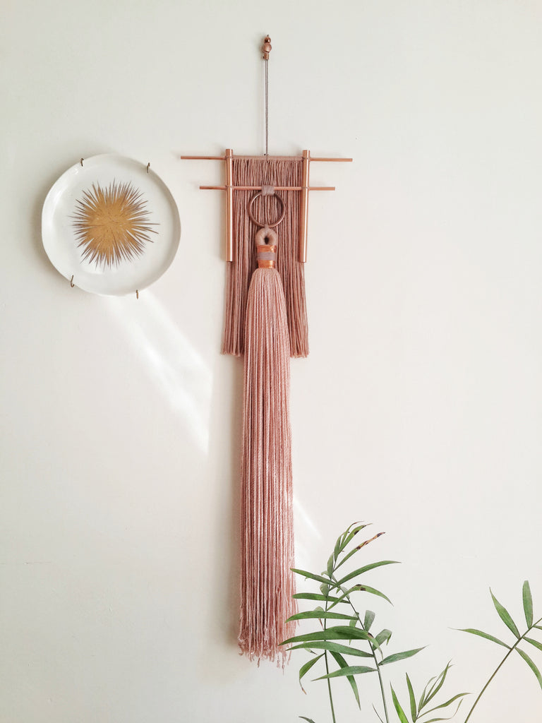 Rischa Blush Wall Hanging - H+E Goods Company
