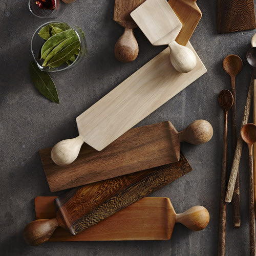 Wood Serving Board Short - H+E Goods Company