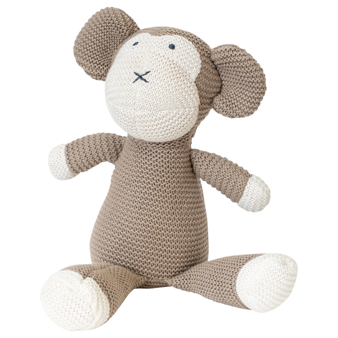 Classic Monkey Organic Stuffed Animal - H+E Goods Company