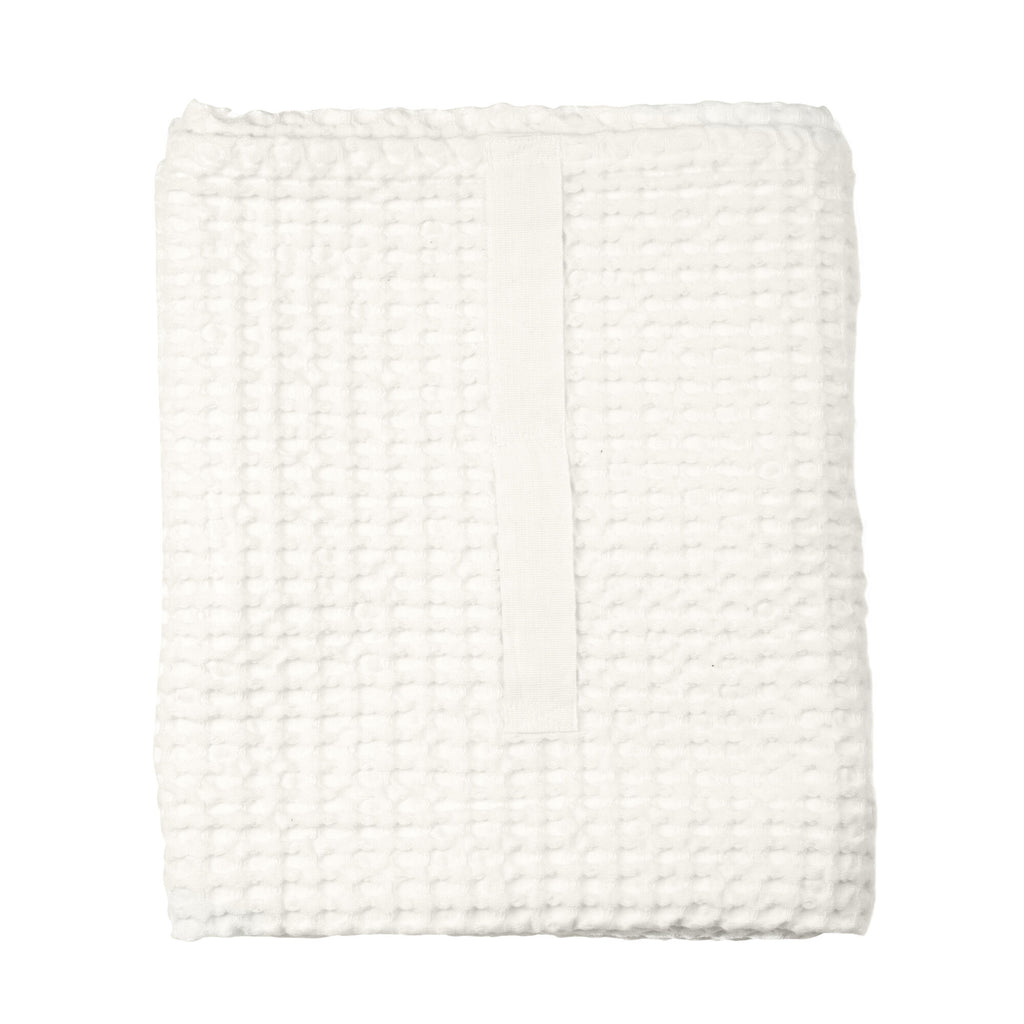 Big Waffle Towel and Blanket - White - H+E Goods Company