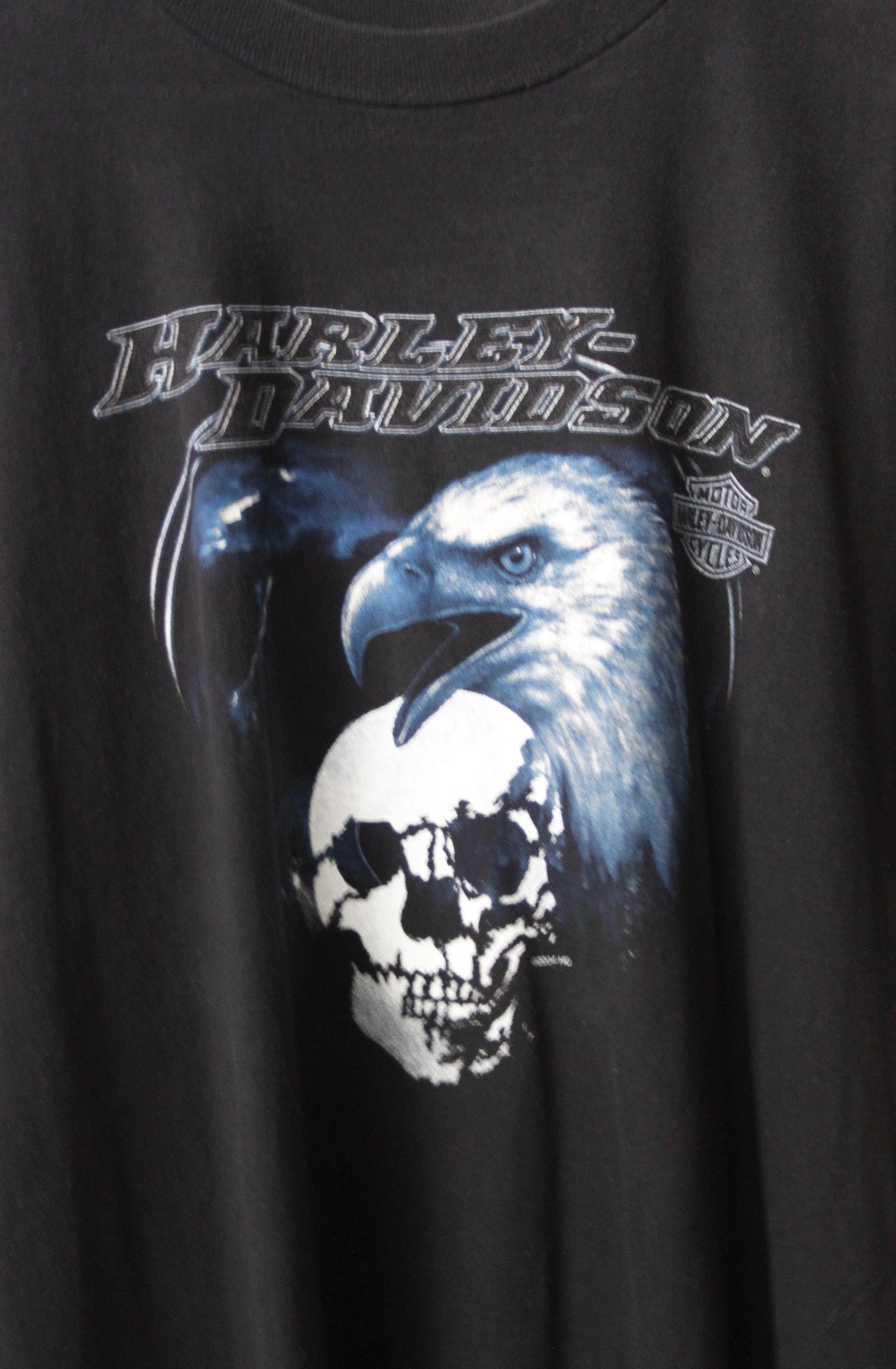 "WSL Customized Vintage Reversible ""Harley Davidson Lebanon"" T-Shirt"