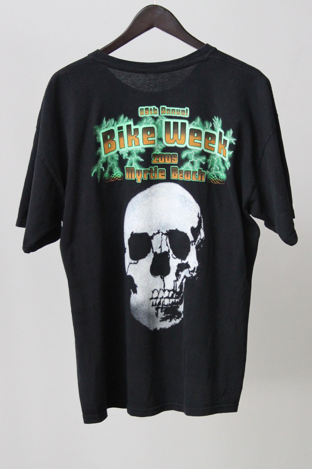 WSL Customized Vintage Reversible 69th Annual Bike Week T-Shirt
