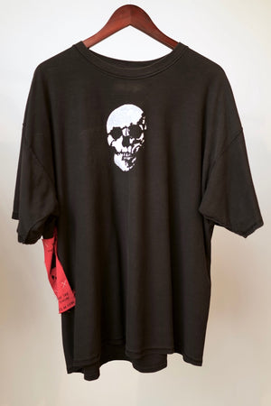 WSL Customized Vintage Reversible Stealth Skull T-Shirt