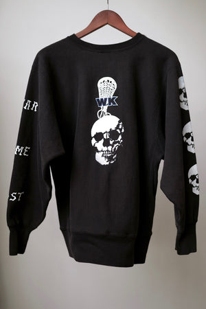 "WSL Customized Vintage ""Kill Time"" Champion Sweatshirt"