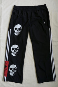 WSL Customized Vintage 3 Skull Adidas Track Pants II