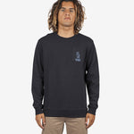 Rip Curl Set Up Crew Sweater in Black