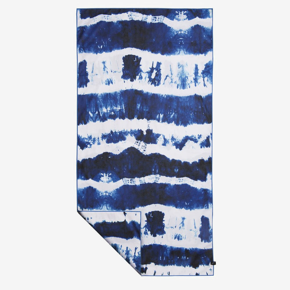 Carve Surf Shop Slowtide Cassidy Blue Tye Dye Microfibre Travel Towel Beach