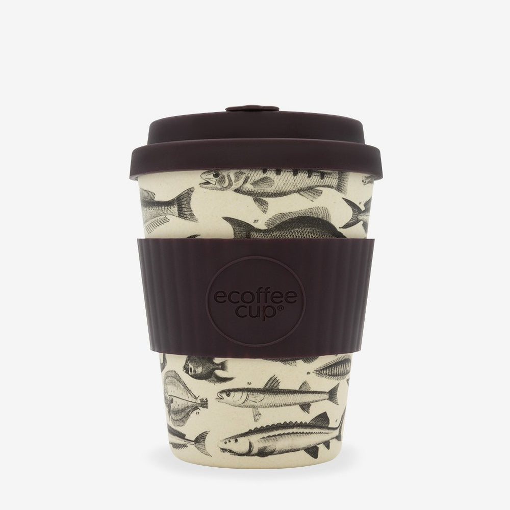 Eco Bamboo Travel Cup 'Toolondo Fishman' 12oz