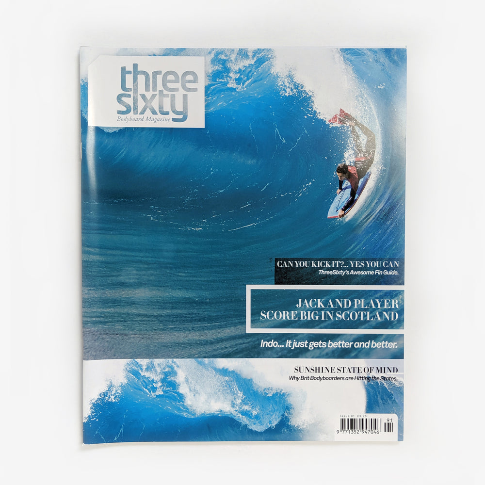 ThreeSixty Bodyboarding Magazine - Issue 91