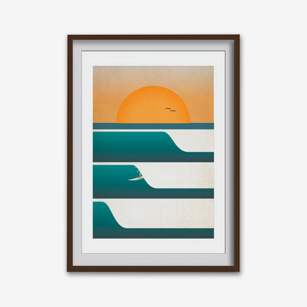 'Kernowfornia 09' Print (various sizes)