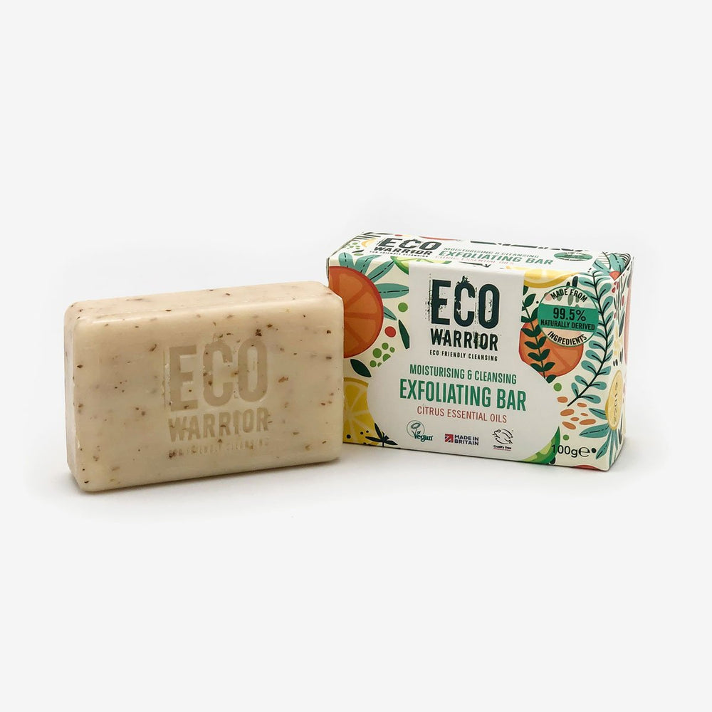 Eco-Warrior Exfoliating Cleansing Bar - Citrus Essential Oil Blend