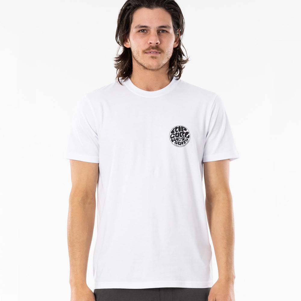 Rip Curl Wettie Essential Tee in White