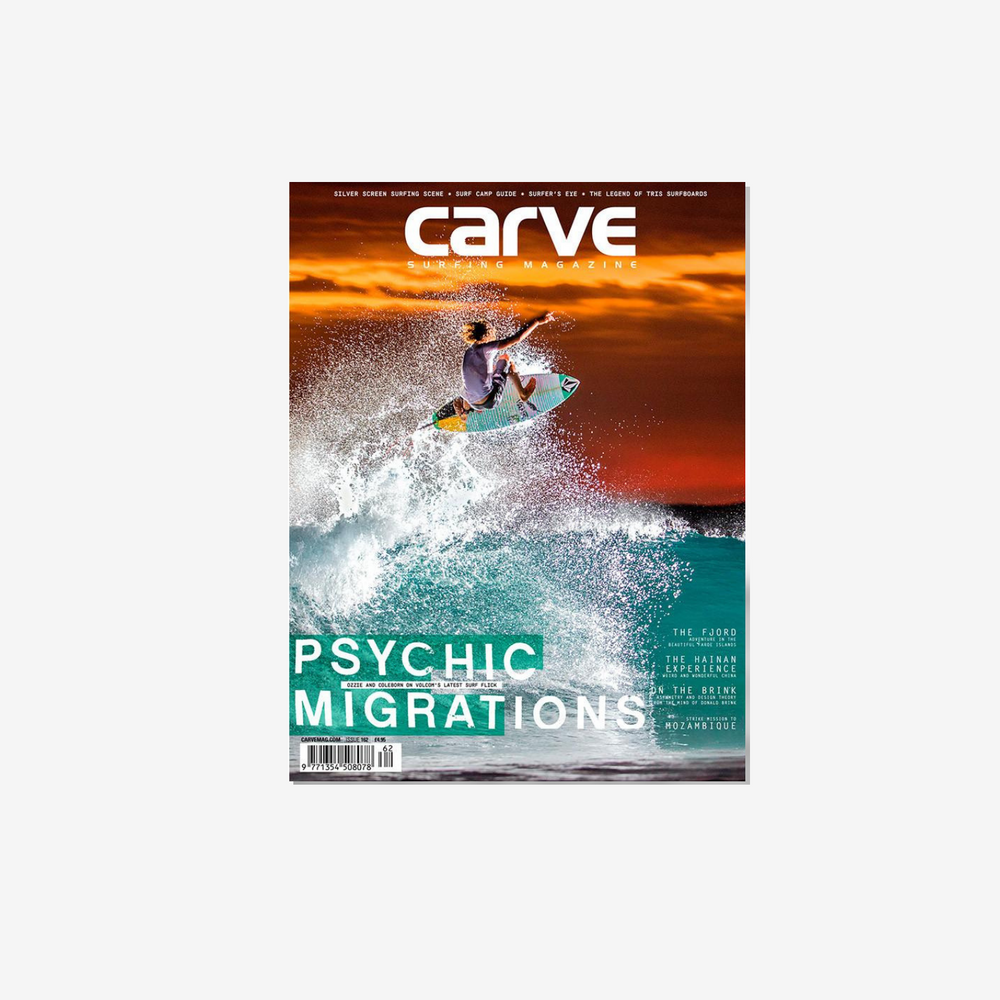 Carve Surf Shop Magazine Issue 162 Surf Mag Surfing Mens