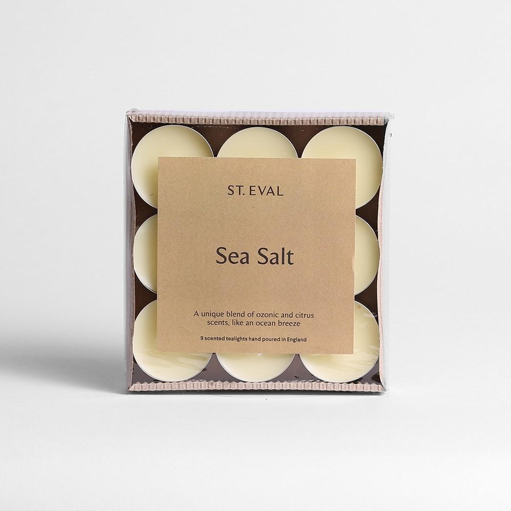 St Eval Sea Salt Tealights Pack