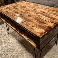 Load image into Gallery viewer, Rustic Modern Coffee Table - Torched