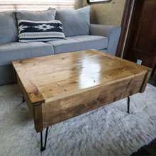 Load image into Gallery viewer, Lift Top Coffee Table - Early American