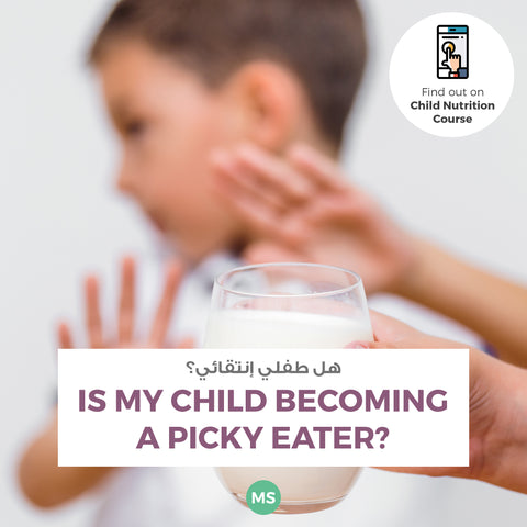 Is your child a picky eater? I can help you. Mirna Sabbagh - Nutritionist and Health Influencer Dubai