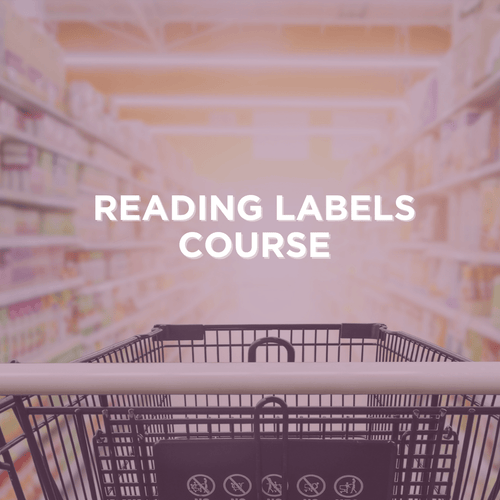 Nurtition Label Expert Course