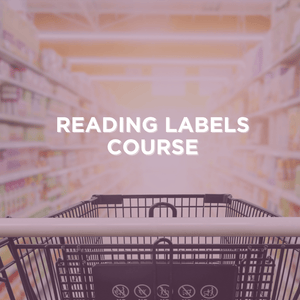 NUTRITION LABEL EXPERT COURSE