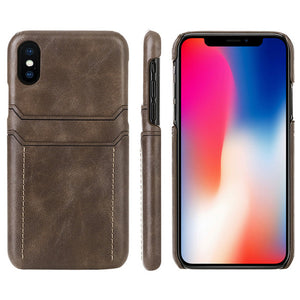 Premium Leather Wallet Case - TechStravagant