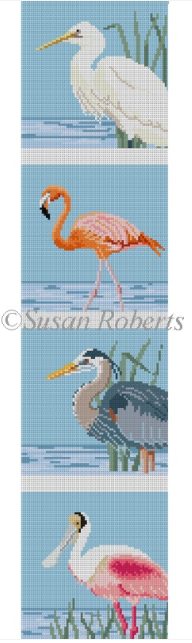 0514 Wading Birds Coaster Set
