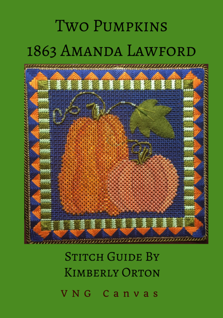 Two Pumpkins Stitch Guide