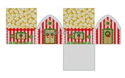 6254 Popcorn 3D Gingerbread House