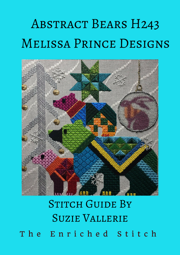 Abstract Bears Stitch Guide