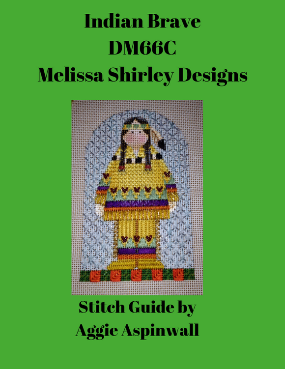 DM-66C Indian Brave Stitch Guide