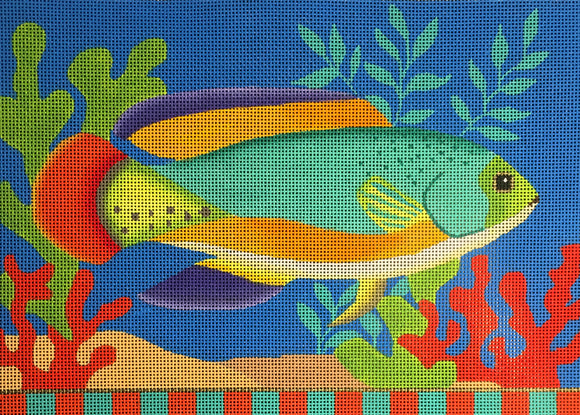 AL-034 Green Tropical Fish