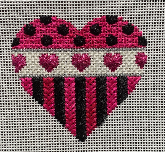 Rhodes Heart Stitch Along with Suzie
