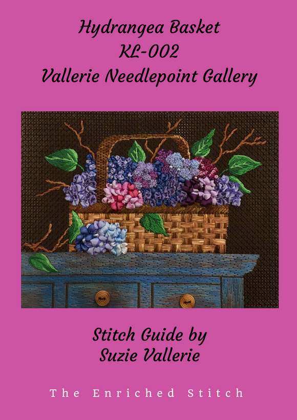 Hydrangea Basket Stitch Guide