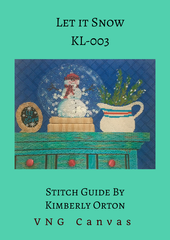 Let it Snow Stitch Guide