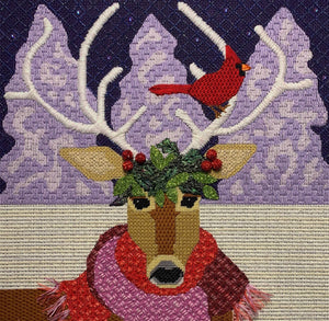 Reindeer and Cardinal Complete Kit