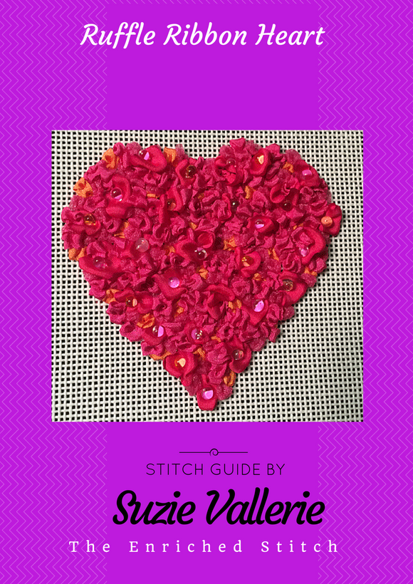 Ruffle Heart Stitch Guide
