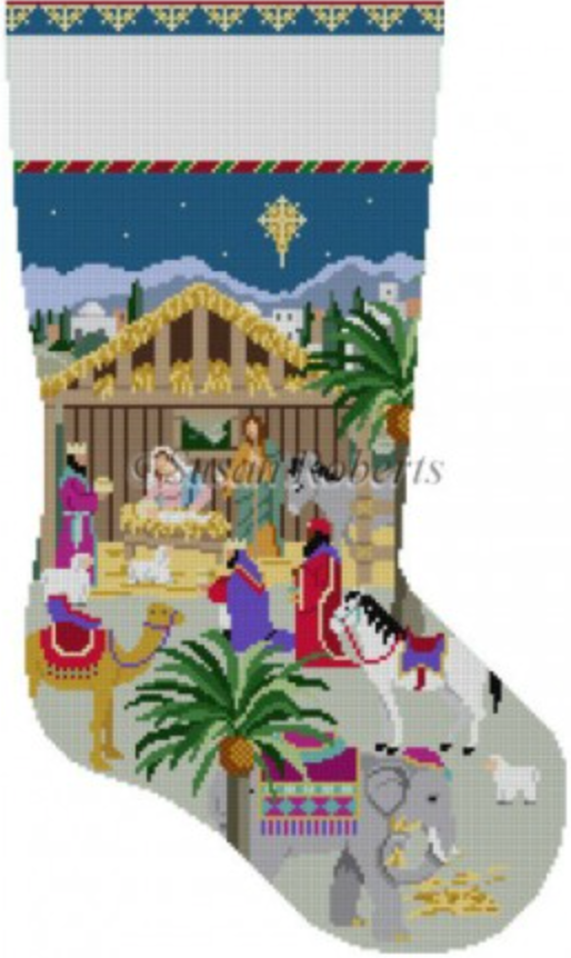0198 Nativity Stable