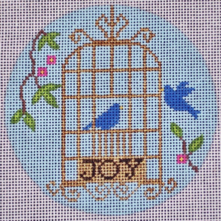 N128 Birdcage Ornament