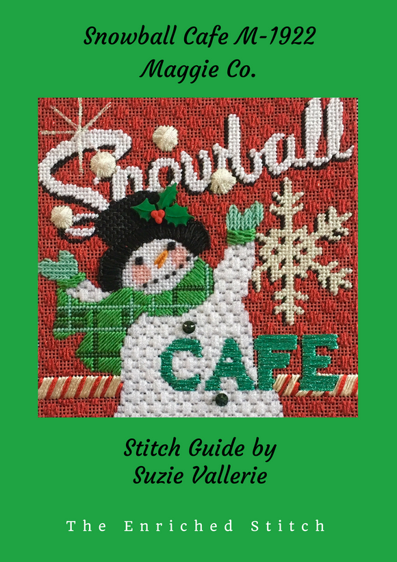 Snowball Cafe Stitch Guide