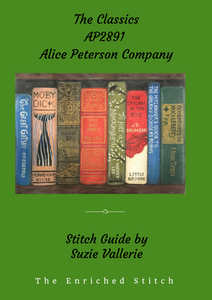 Classic Novels Stitch Guide