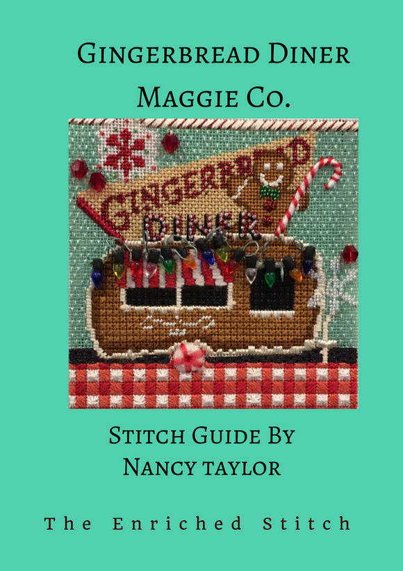 Gingerbread Diner Stitch Guide