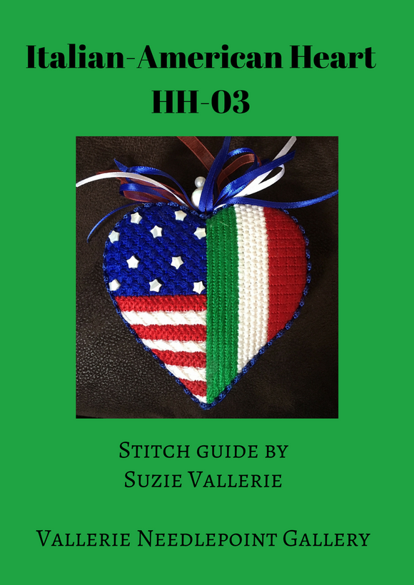 HH-03 Italian-American Heart Stitch Guide