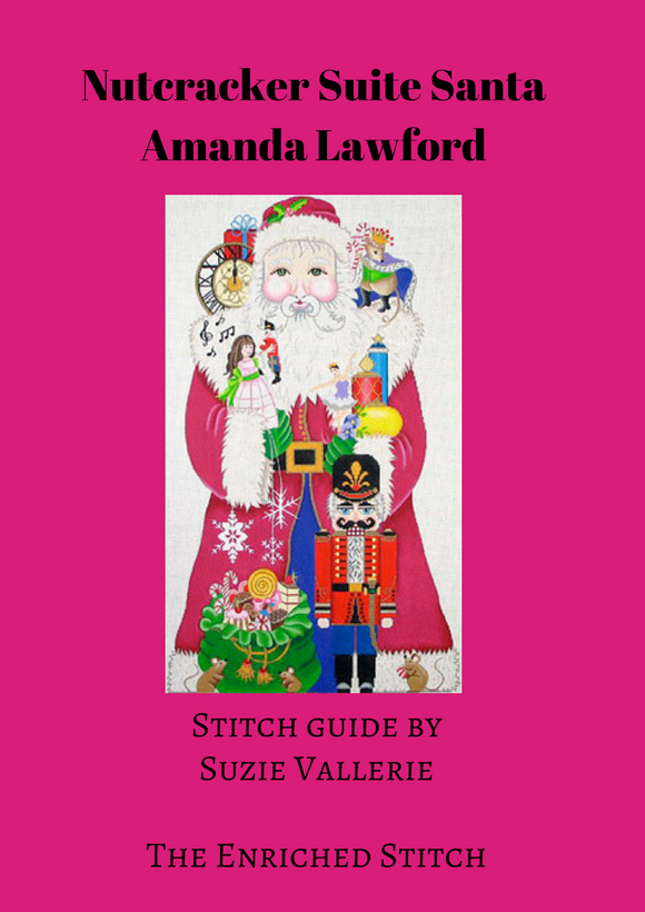Nutcracker Suite Santa Stitch Guide