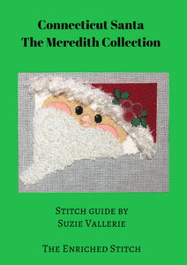 Connecticut State Santa Stitch Guide