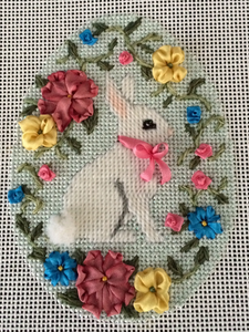 0446 Bunny with Vines Stitch Guide