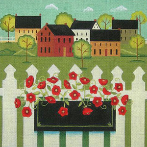 EWE-263 Town with Flower Box