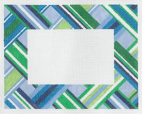 F02 Blue Ribbon Frame