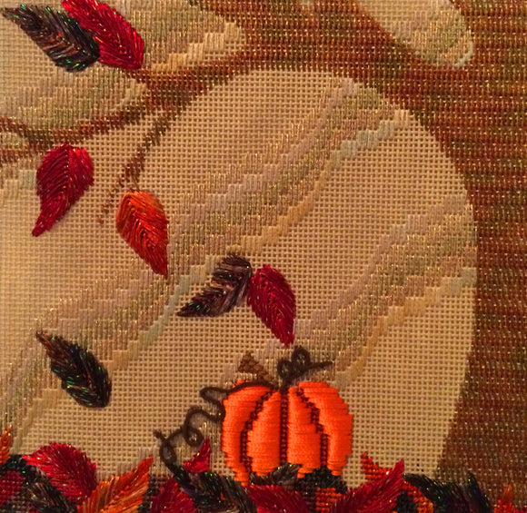 Fall Tree Stitch Guide