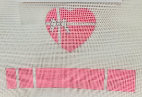 FS-HRT-8 Pink Heart Hinged Box
