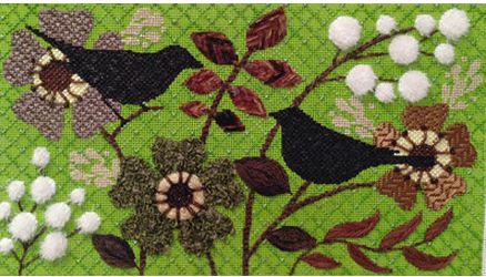 Bird Stories 1650-A Stitch Guide