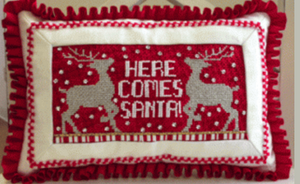 Here Comes Santa Stitch Guide